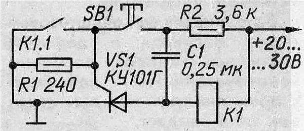 Вот простая схемка работает нормально, собирал много раз.  Иногда требует подбора конденсатора (зависит от типа реле).