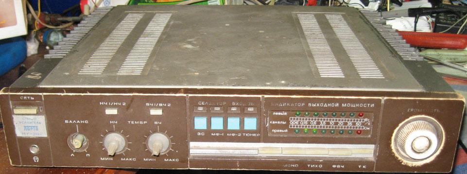 схема ремонт усилителя амфитон