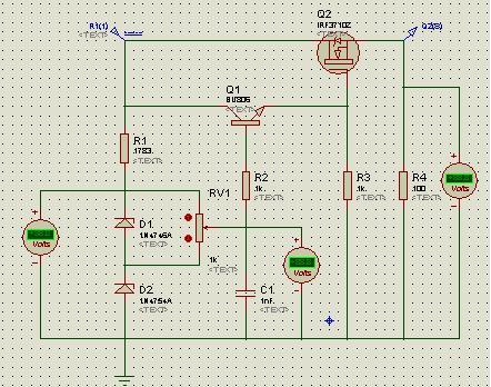 Мощный стабилизатор тока .