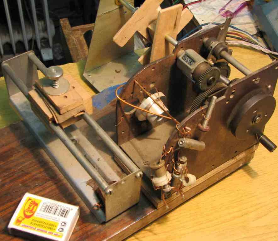 Станок для намотки катушек из принтера своими руками 8
