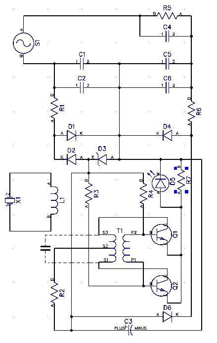 принципиальная схема ультратон амп 2 инт