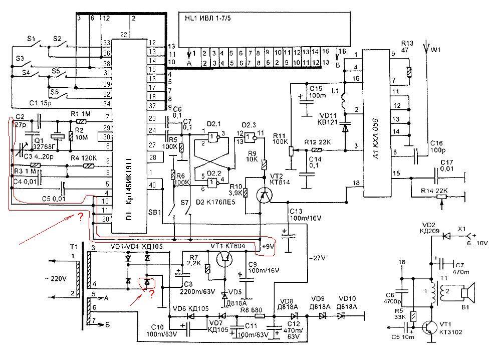 Каталог электронных схем модемов стандарта adsl2.