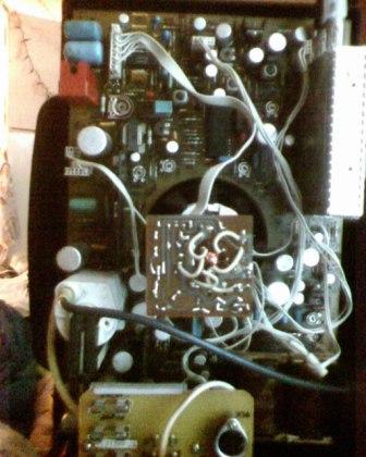Телевизора trony t-crt 2102